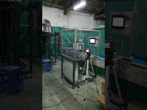 5 gallon bottle caps liner inserting machine- Guangzhou Deli Industries Limited