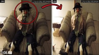 5 CREEPY Haunted Dolls Caught Moving On Tape...