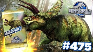 THE COMPLETE TRICERATOPS GEN2 TOURNEMENT!!! | Jurassic World - The Game - Ep475 HD