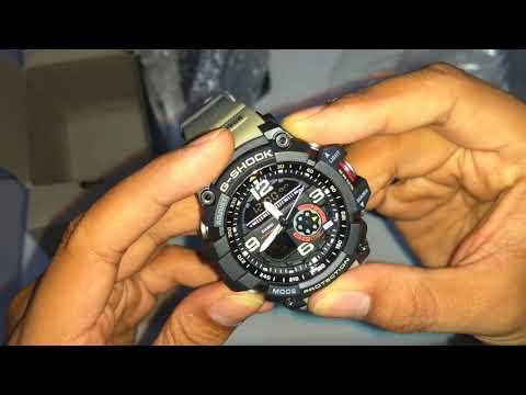 Review GShock GG1000 Grade Ori BM (kompas Autolight Termometer)