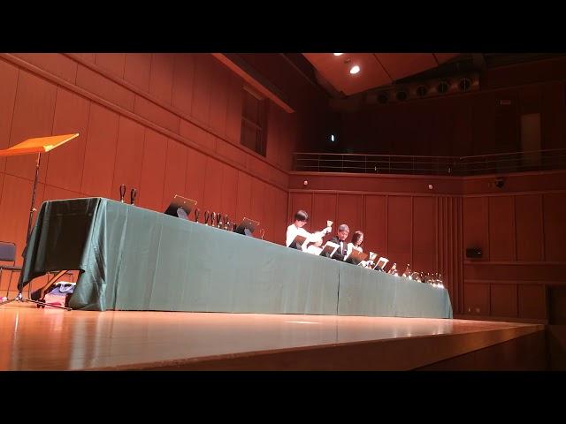 Good King Wenceslas,  Bell Ensemble Kobe, 2017 Dec, Handbells ハンドベル