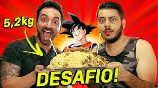 DESAFIO YAKISOBA GIGANTE DO GOKU 5,2KG feat. Corbucci Eats