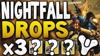 Destiny - NIGHTFALL DROPS x3 (Week 7)