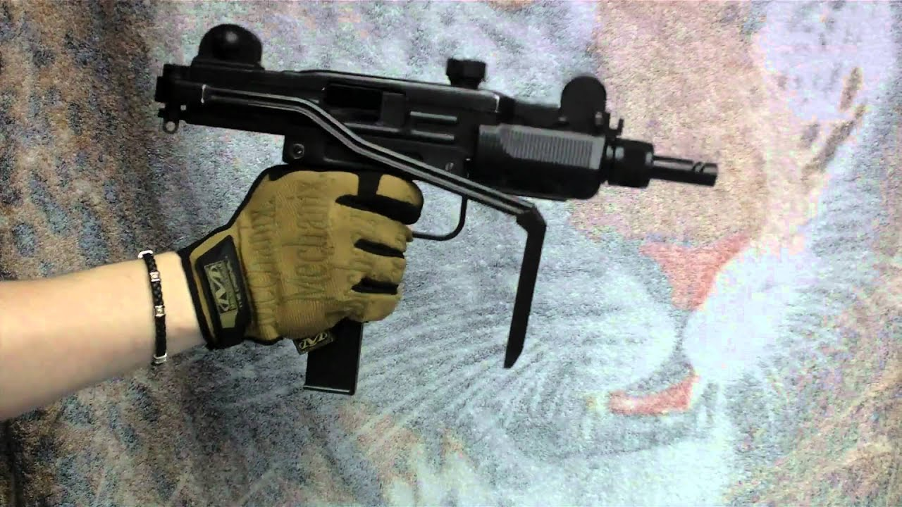 (Airsoft) KWC Mini UZI - YouTube