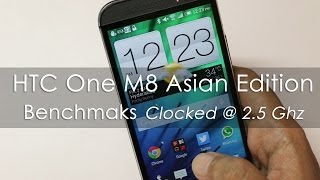 HTC One M8 - 2.5 Ghz Indian Ver Benchmarks & Moving apps to SDCard