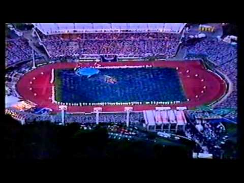 1990 Commenwealth Games Opening Ceremony