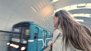 A VLOG of the Moscow metro... for the First time in a long time... 10.11.2017