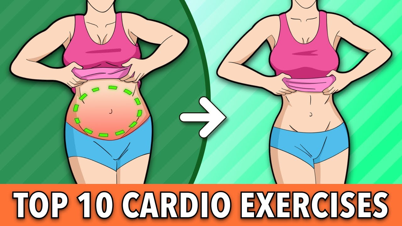 Top 10 Cardio Exercises – burn lots of calories