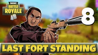 [8] Last Fort Standing (Let's Play Fortnite: Battle Royale w/ GaLm and friends)