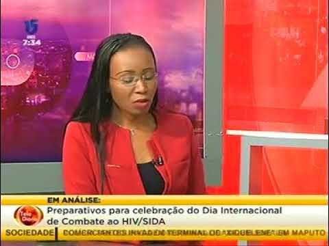 20171129   Mozambique USAID Mission Director Jennifer Adams'World AIDs Day Interview STV Channel