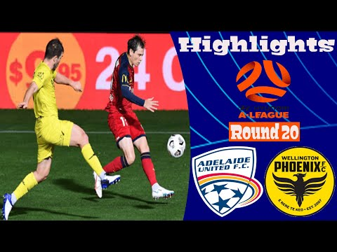 Adelaide United Wellington Phoenix Goals And Highlights
