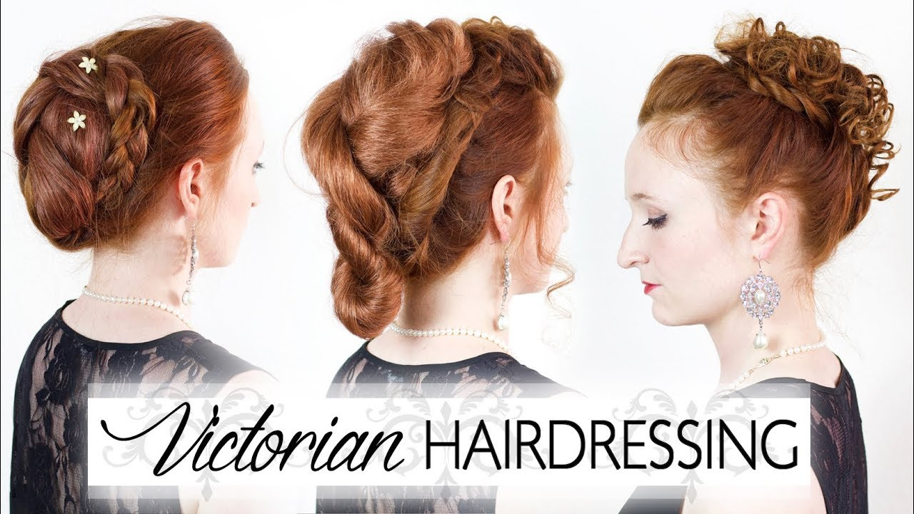 victorian hairdressing - reproducing