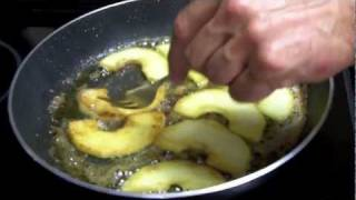 Foie Gras Recipe: Caramelized Apples With Foie Gras