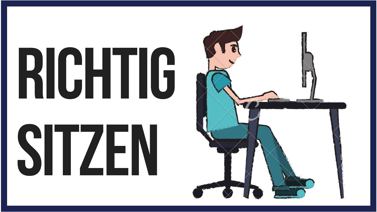 Richtig Sitzen Rückenschmerzen Dauerhaft Vermeiden Coachpatrick
