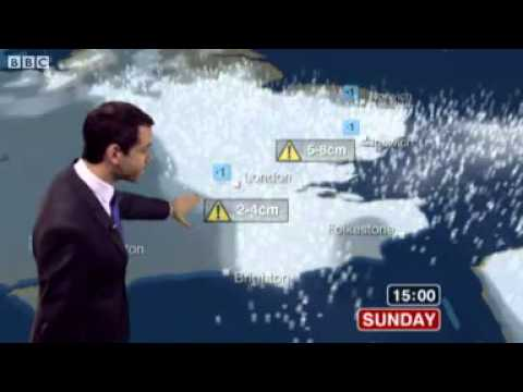 BBC Weather - Snow warnings issued: Sun 20 Jan 2013 - Latest weather forecast, issued at 04:44