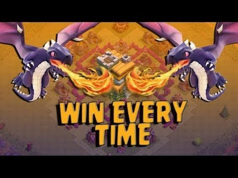 Clash of Clans | TH7 LEVEL 1 Dragon ATTACK STRATEGY 3Stars 2017