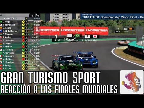 Reaccionando a las finales mundiales de Gran Turismo Sport thumbnail