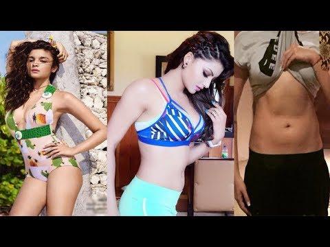 Bollywood Actresses Urvashi Rautela, Alia Bhatt, Shilpa Shetty Hot Workout Video