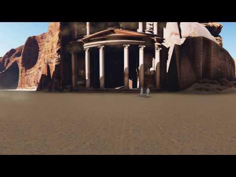 360 ancient Jordanian city of Petra.