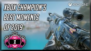 An XBOX CHAMPION'S Best Moments Of 2019 : Ranked Highlights - Rainbow Six Siege Gameplay