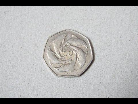 Gibraltar Dolphins 50p Coin!