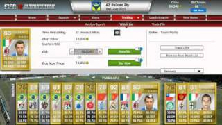 FIFA 12 Ultimate Team All 5 Star Skill Players