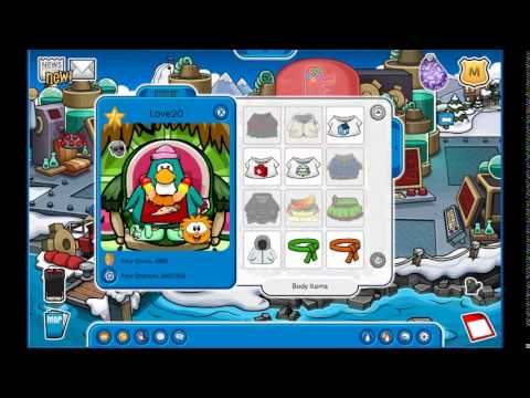 Free club penguin account rare red lei july 2015 youtube