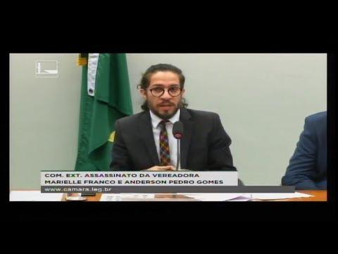 ASSASSINATO MARIELLE FRANCO E ANDERSON PEDRO GOMES - Reunião Deliberativa - 04/09/2018 - 12:53
