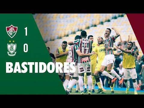 FluTV - Bastidores - Fluminense 1 x 0 América-MG - Campeonato Brasileiro