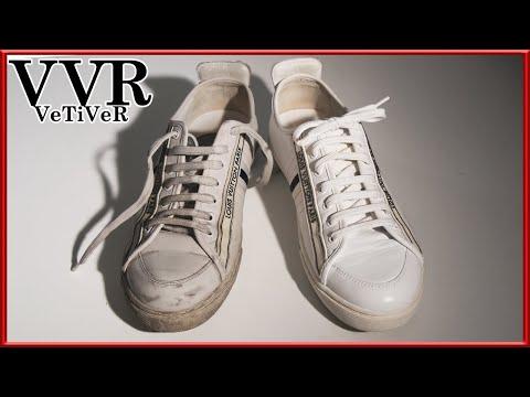 "[ASMR] Clean & restore ""Louis Vuitton"" ""White sneakers""  4k"