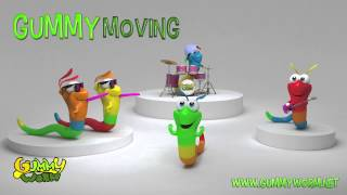 Gummy Worm song - Gummy Moving
