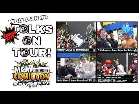 Orcs, Goku's Dragonballs, A Coffee Addict and Super Friends! MCM Birmingham TOT Final!