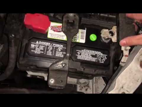 Replace Car Battery Honda Accord 2017 9th Gen Iphone X 4k 60fps