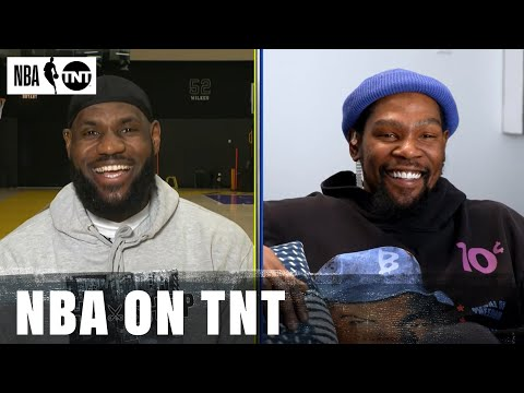 LeBron James and Kevin Durant Draft Their Teams for the 2021 NBA All-Star Game | NBA on TNT