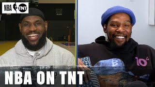 LeBron James and Kevin Durant Draft Their Teams for the 2021 NBA All-Star Game   NBA on TNT