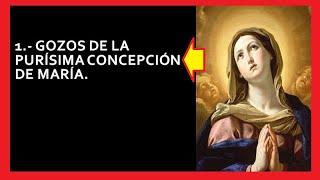 GOZOS DE LA PURÍSIMA CONCEPCIÓN DE MARÍA 🙏🙏🙏❤❤❤🌹🌹🌹