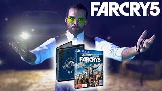 FAR CRY 5 DELUXE EDITION UNBOXING - PS4 PRO