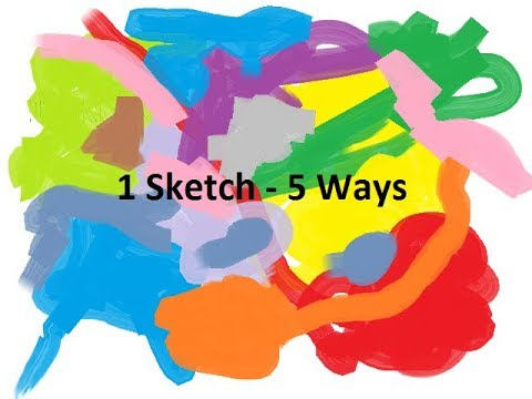 1 sketch 5 ways ~~ Traveler's Notebook ~~ Scrapping Good Times FB Group Challenge