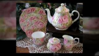 Heirloom English Bone China Tea Sets