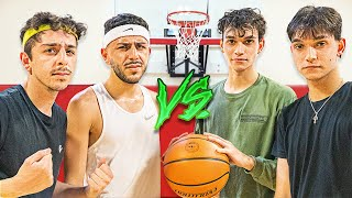 FaZe Rug & Brawadis VS The Dobre Twins! ($50,000 Basketball 2v2)