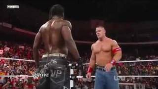 John Cena vs. The Miz vs. R-Truth at Extreme Rules 2011 WWE Raw 11/4/11