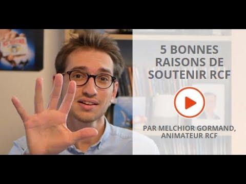 5 bonnes raisons pour soutenir RCF ! #RadiodonRCF
