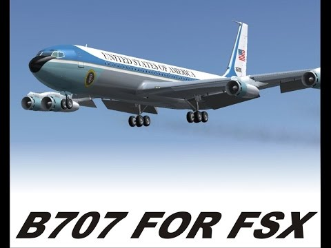 FSX Boeing 707 Jet Clipper Review
