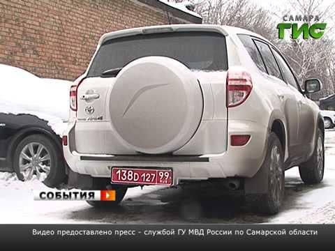 Самарские полицейские задержали автоугонщиков