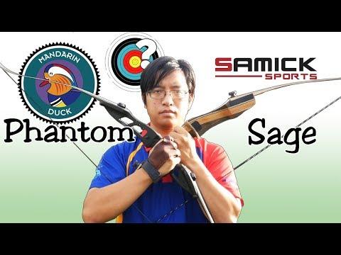 Archery | Mandarin Duck Phantom vs Samick Sage