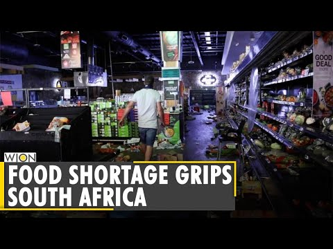 South Africa: Worry over food shortage after week of rioting | Latest World English News | WION News
