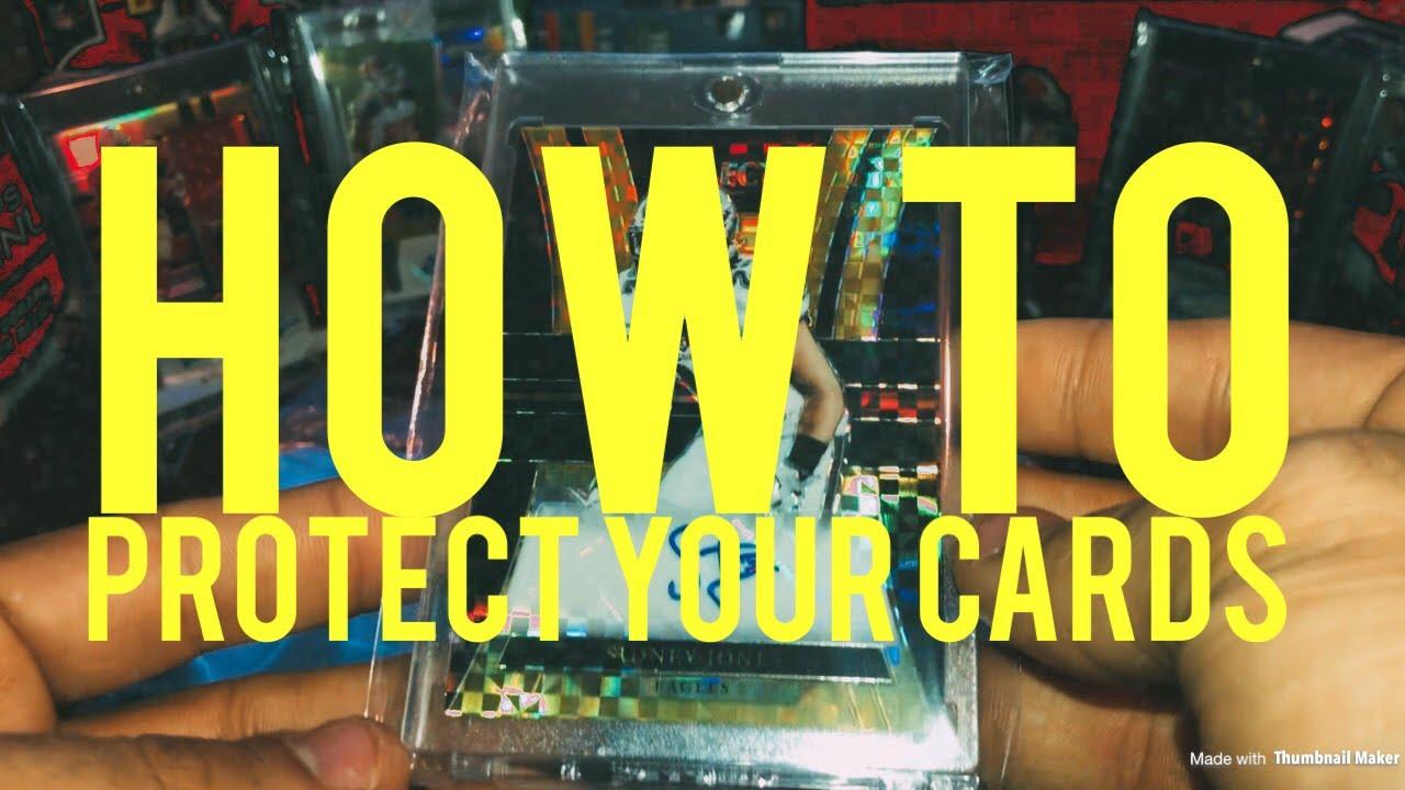How To Protect Your Cards Football Baseball Basketball Etc