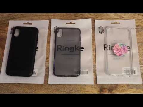 wholesale dealer 557ac c453c iPhone X Ringke Case Review - Onyx - Air - Fusion