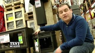 Test Qualite Brico Depot Produit De Chauffage Poele A Bois Youtube