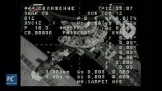 Russian cargo vehicle Progress MS-02 heading back to earth